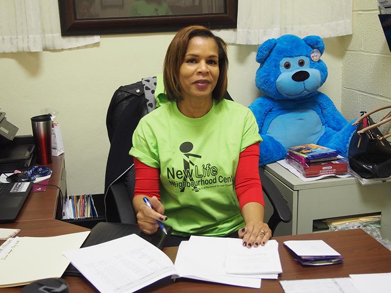 Ann Thompson, director of the Neighbourhood Centre